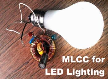 Holy Stone MLCC for LED Lighting